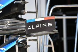 Dettaglio ala anteriore Alpine A521