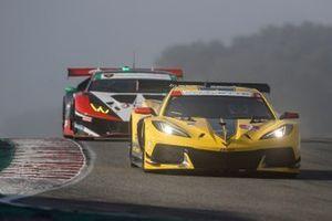 #3: Corvette Racing Corvette C8.R, GTLM: Antonio Garcia, Jordan Taylor, #1: Paul Miller Racing Lamborghini Huracan GT3, GTD: Madison Snow, Bryan Sellers