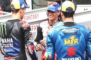 Fabio Quartararo, Yamaha Factory Racing, Jorge Martin, Pramac Racing, Joan Mir, Team Suzuki MotoGP