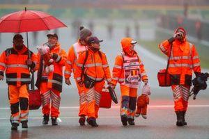 Marshals op het circuit
