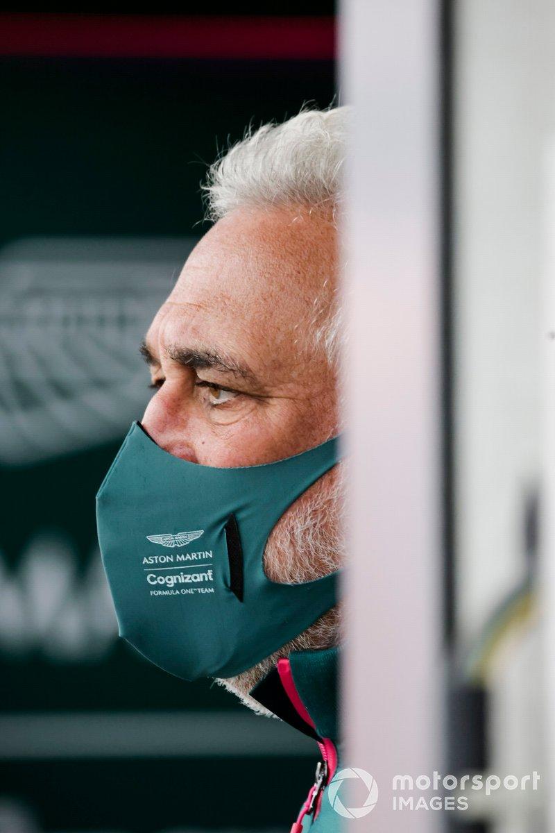 Lawrence Stroll, dueño de Aston Martin F1