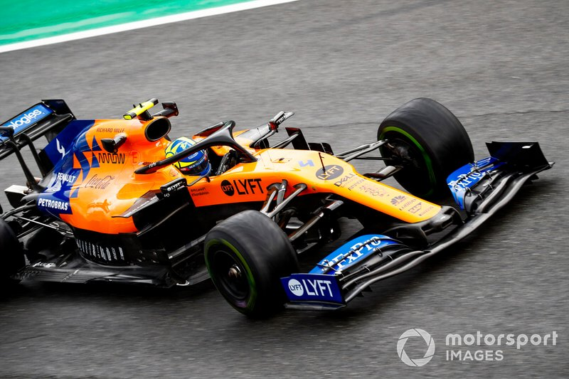 10 - Lando Norris, McLaren MCL34