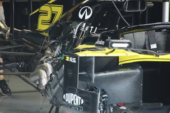 Renault F1 Team R.S.19 rear detail