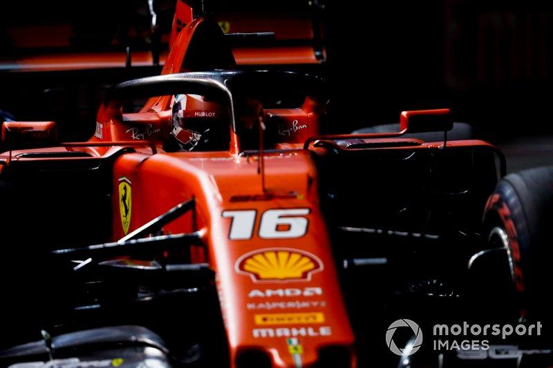 1: Charles Leclerc, Ferrari SF90, 1:36.217