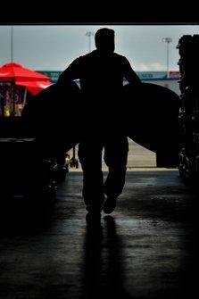 Goodyear tire garage bay