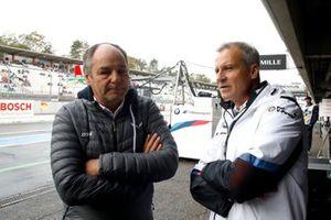 Gerhard Berger, ITR Chairman, Jens Marquardt, BMW Motorsport Director
