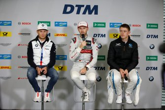 Press Conference, Marco Wittmann, BMW Team RMG, René Rast, Audi Sport Team Rosberg, Paul Di Resta, R-Motorsport
