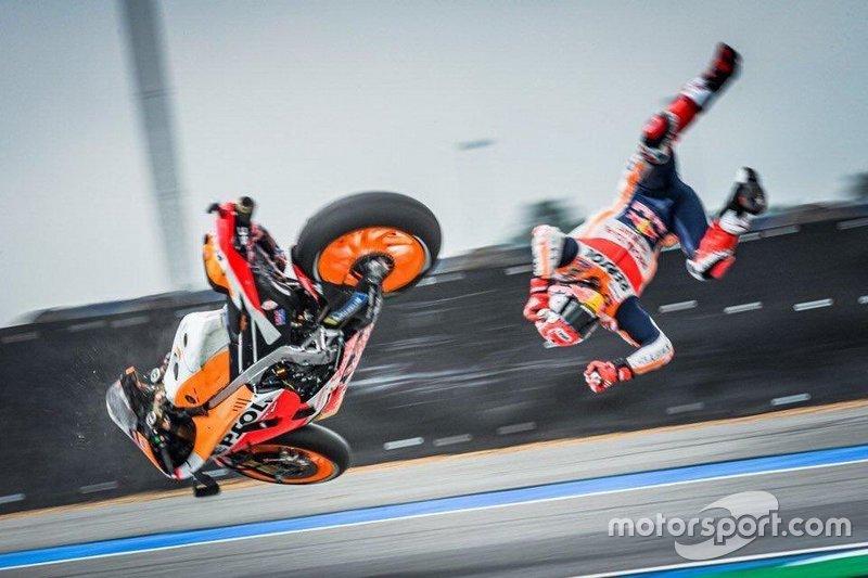 Moto de Marquez na Tailândia