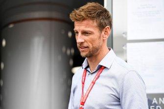 Le Champion du monde 2009 Jenson Button