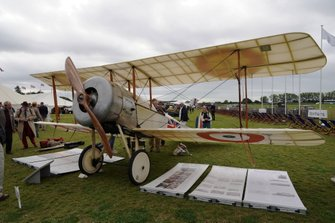 1914 Bristol Scout biplane