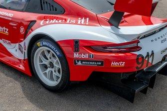 Porsche 911 RSR im Coca-Cola-Design für das Petit Le Mans 2019