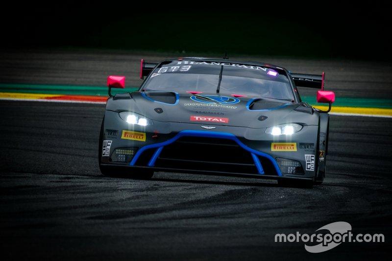#762 R-Motorsport Aston Martin Vantage AMR GT3: Ricky Collard, Hugo de Sadeleer, Ferdinand Habsburg, Aaro Vainio