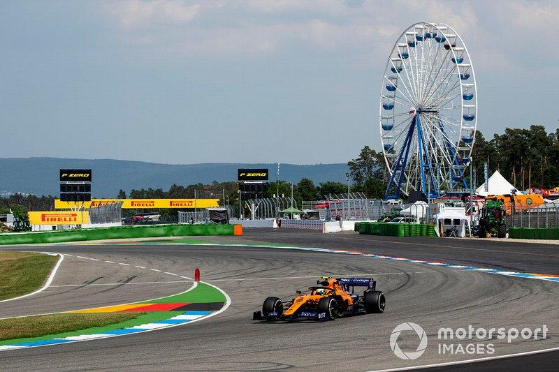 19 - Lando Norris, McLaren MCL34 - 1'13.333 (punição)