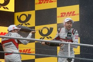 Podium: Mike Rockenfeller, Audi Sport Team Phoenix and René Rast, Audi Sport Team Rosberg