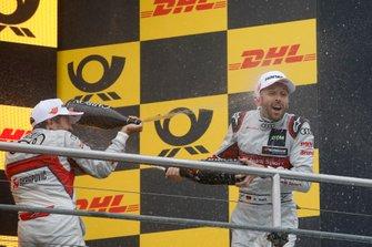 2. Mike Rockenfeller, Audi Sport Team Phoenix, 3. René Rast, Audi Sport Team Rosberg