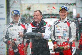 Ott Tänak, Martin Järveoja, Toyota Gazoo Racing WRT Toyota Yaris WRC avec Tommi Makinen, Toyota Gazoo Racing