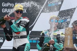Podium: race winner Marcos Ramirez, Leopard Racing, third place Lorenzo Dalla Porta, Leopard Racing