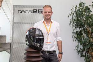 Casco della Teca25, azienda del gruppo Schuberth