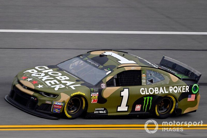 10. Kurt Busch, Chip Ganassi Racing, Chevrolet Camaro