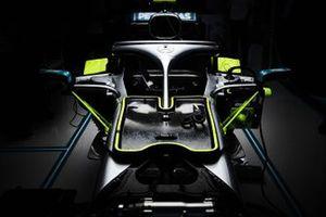 Mercedes AMG F1 W10 detail