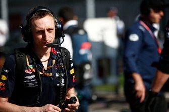 Ben Waterhouse, Head of Performance Engineering, Red Bull