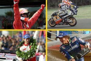Los pilotos que lograron 5 mundiales consecutivos
