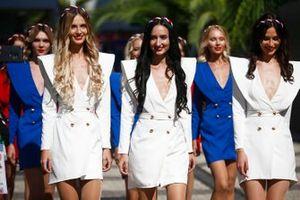 Russian promotional women
