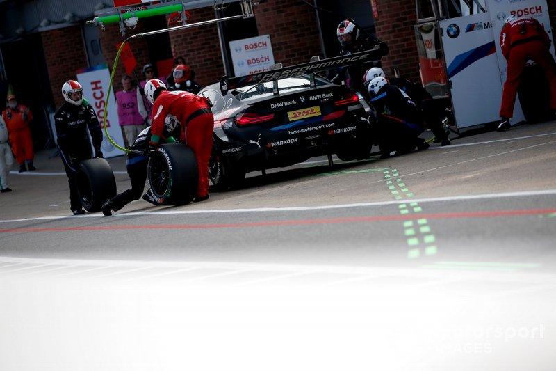 Pitstop, Bruno Spengler, BMW Team RMG, BMW M4 DTM