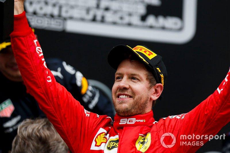 Из-за разницы в системах начисления очков, Феттель принес Ferrari больше всех баллов (1357). При этом Михаэль Шумахер (1066) только четвертый, уступая Фернандо Алонсо (1190) и Кими Райкконену (1080)