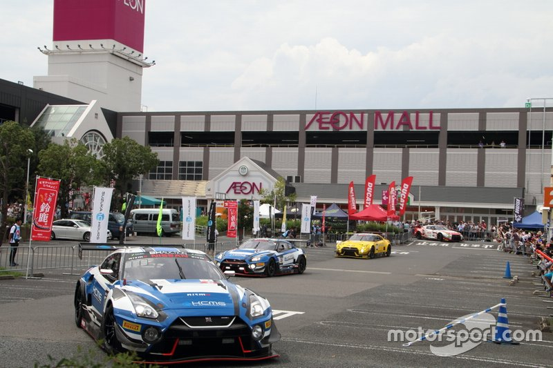 鈴鹿モータースポーツフェスティバル レーシングカーパレード