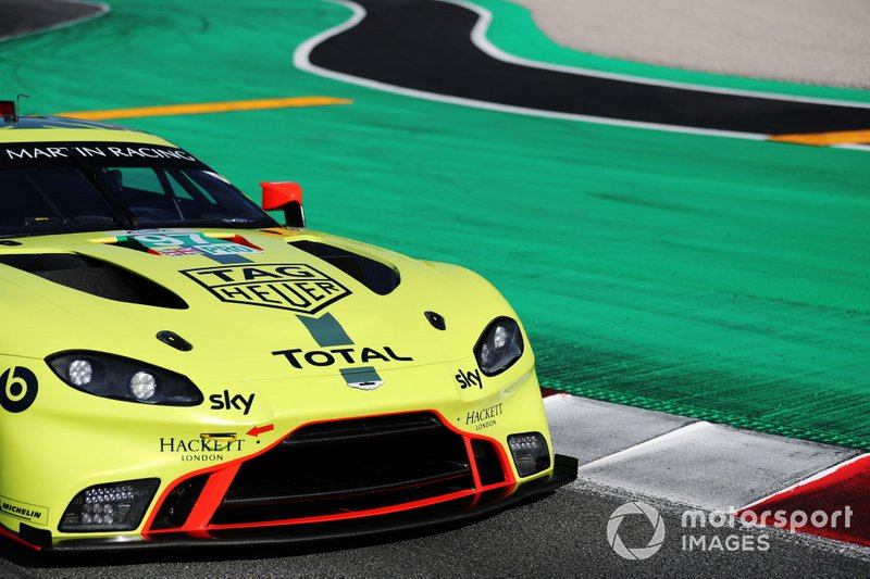 #97 Aston Martin Racing Aston Martin Vantage AMR: Alex Lynn, Maxime Martin, Nicki Thiim, Marco Sorensen