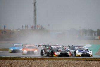 Mike Rockenfeller, Audi Sport Team Phoenix, Audi RS 5 DTM, Joel Eriksson, BMW Team RBM, BMW M4 DTM