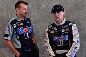Kevin Harvick, Stewart-Haas Racing, mit Rodney Childers