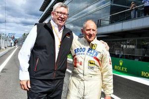روس براون، المدير العام الرياضي للفورمولا واحد وجودي شيكتر