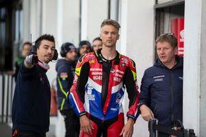 Leon Camier, Honda WSBK Team, et Chris Pike