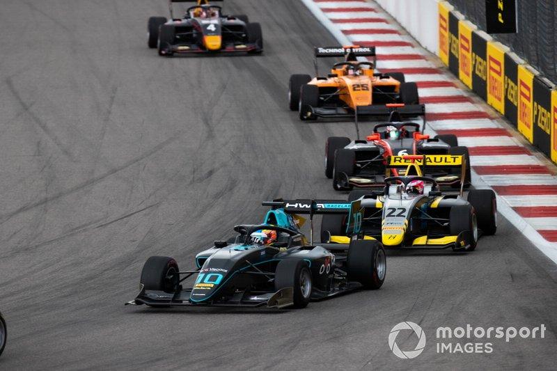 Bent Viscaal, HWA RACELAB and Ye Yifei, Hitech Grand Prix