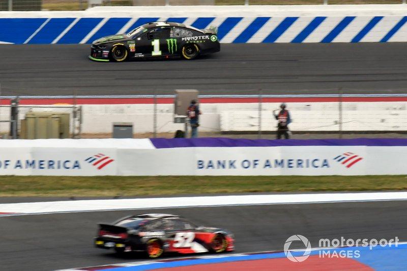 Kurt Busch, Chip Ganassi Racing, Chevrolet Camaro Monster Energy, Josh Bilicki, Rick Ware Racing, Chevrolet Camaro AQRE.app