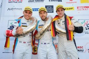 #9 Phoenix Racing Audi R8 LMS: Michele Beretta, Steve Jans, Nicolay Møller Madsen