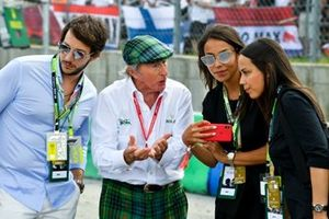 Sir Jackie Stewart, triple Champion du monde de F1