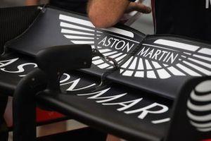 Detalle del alerón trasero del Red Bull Racing RB15