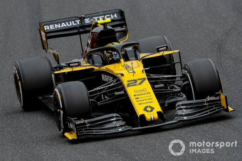 Nico Hulkenberg, Renault F1 Team: 7 puan