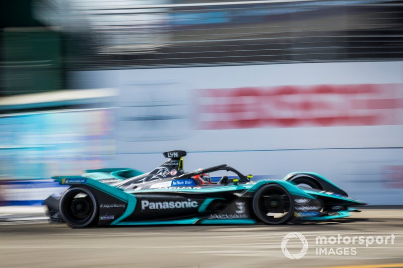 Jaguar 2018/19: Mitch Evans, Nelson Piquet jun., Alex Lynn