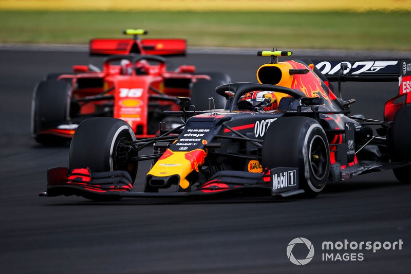 Pierre Gasly, Red Bull Racing RB15, Charles Leclerc, Ferrari SF90