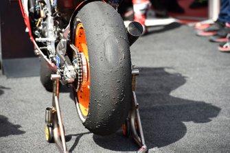 Marc Marquez, Repsol Honda Team, tyre