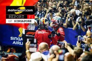 Copertina Report GP di Singapore