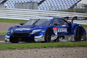 #17 Real Racing Honda NSX-GT: Koudai Tsukakoshi, Bertrand Baguette