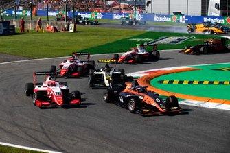 Richard Verschoor, MP Motorsport e Marcus Armstrong, PREMA Racing
