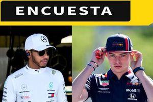 Encuesta F1 Lewis Hamilton- Max Verstappen