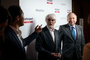 Jean Todt, Presidente FIA e Bernie Ecclestone