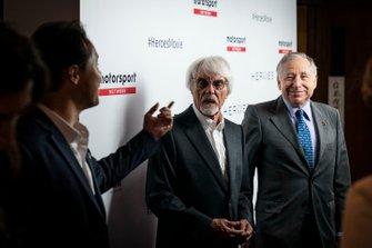 Jean Todt, Presidente de la FIA y Bernie Ecclestone